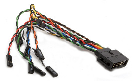 Supermicro CBL-0338L 40 CM 16 Pin Front Panel Split Cable